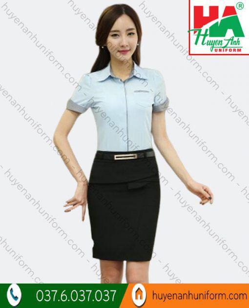 Đồng phục áo sơ mi công sở nữ SM-1 1