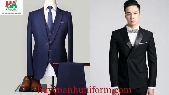 Mẫu đồng phục áo vest nam công sở đẹp