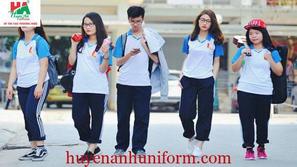 Đồng phục thể dục trường đại học Bách Khoa