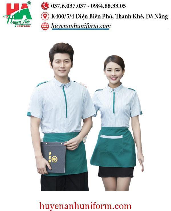 Mẫu đồng phục nhà hàng tại đà nẵng