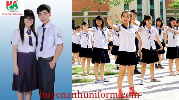 mẫu đồng phục học sinh cấp 2, THCS tại đà nẵng