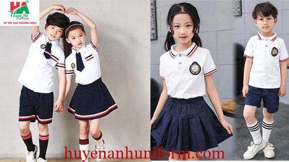 Đồng phục tiểu học đẹp