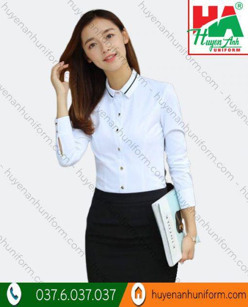 Đồng phục áo sơ mi công sở nữ SM-3 1