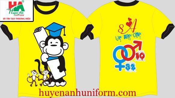 Thiết kế áo lớp theo năm sinh hoặc 12 con giáp