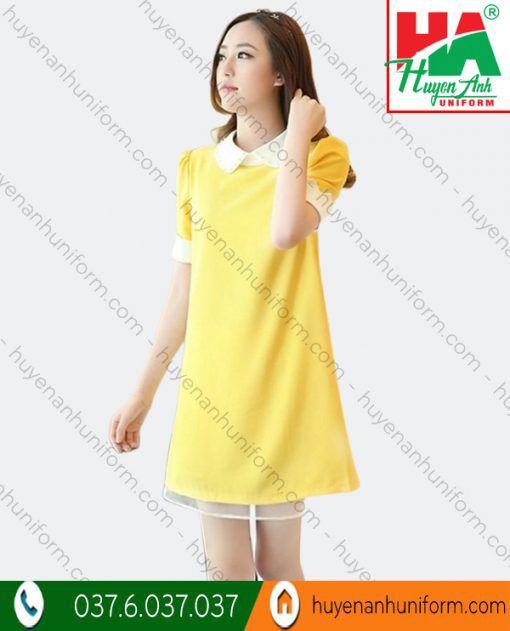 Mẫu váy đầm suông chữ A