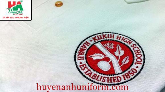 Thêu logo trường làm áo lớp tại đà nẵng