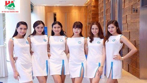 Mẫu may đồng phục PG - Quảng cáo tại Đà Nẵng