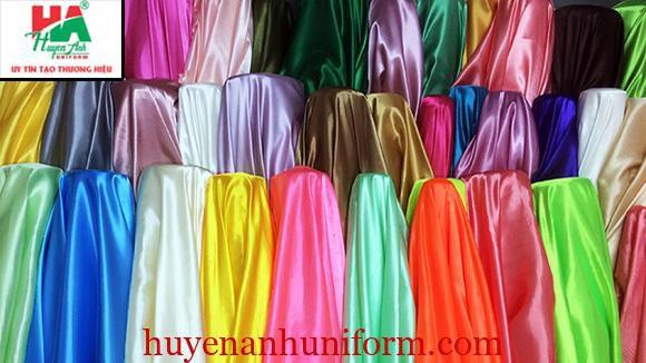 Vải phi bóng tại xưởng vải tại đà nẵng